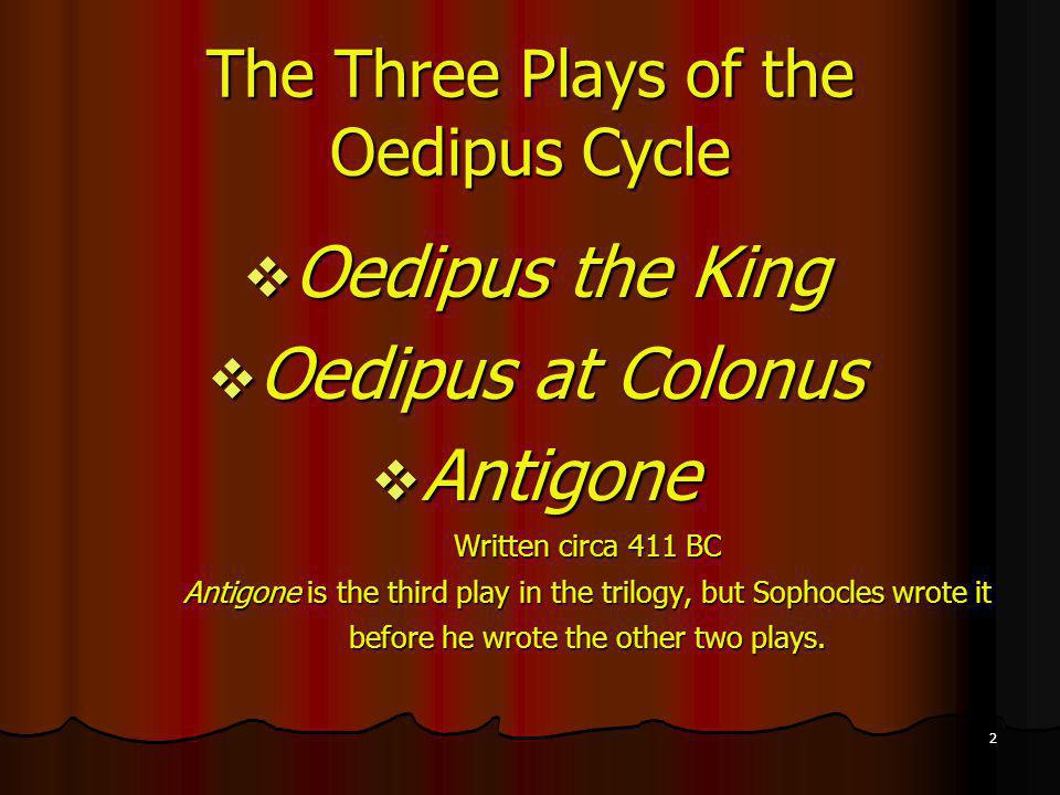 Oedipus The King Play The Tragedy of ...