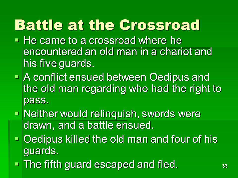 Battle at the Crossroad