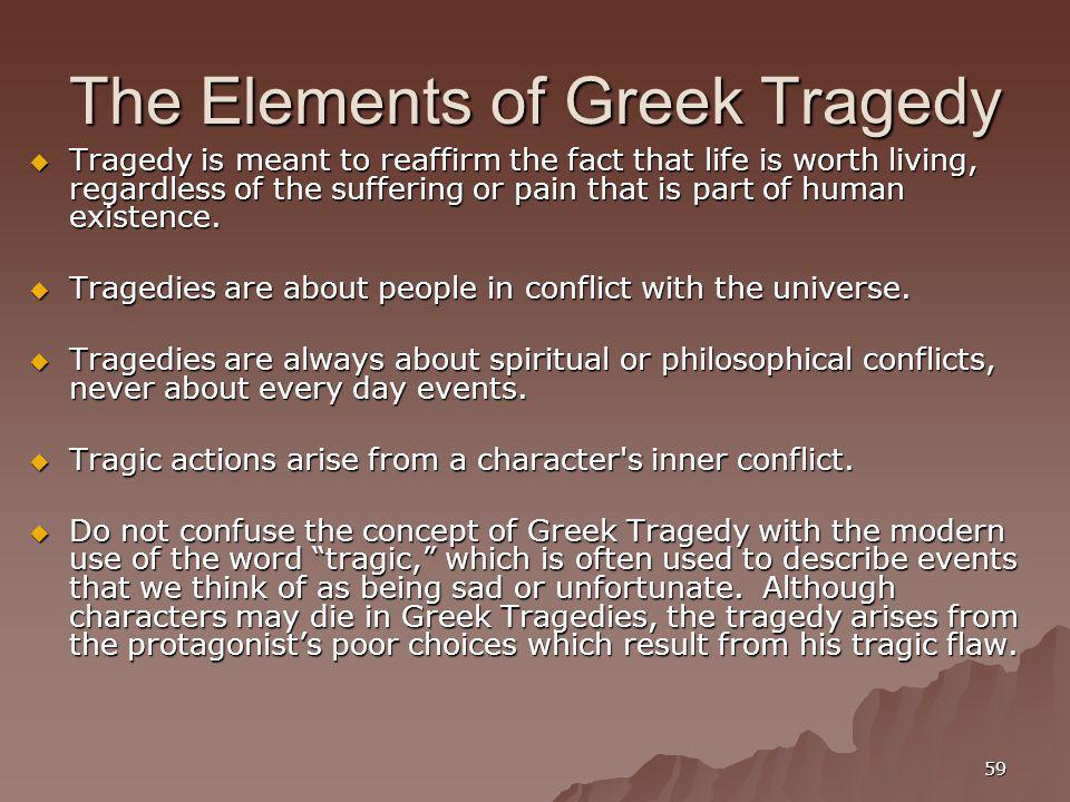 The Elements of Greek Tragedy