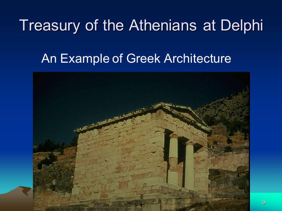 Treasury of the Athenians at Delphi