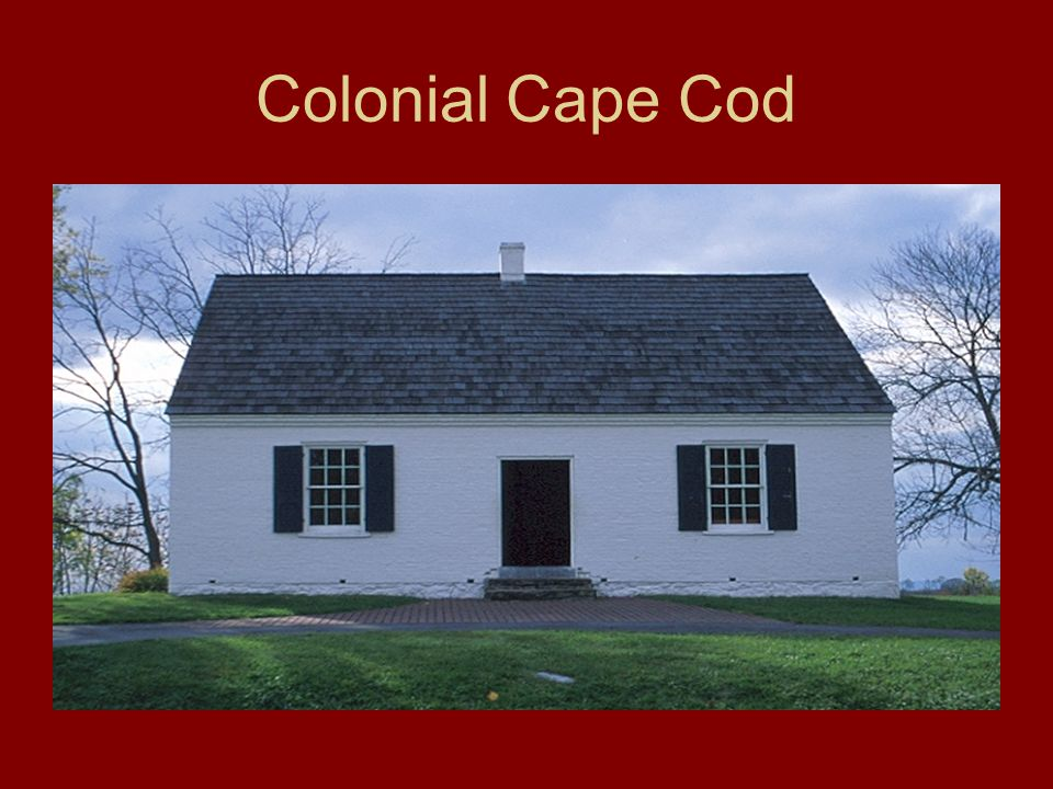 Colonial Cape Cod