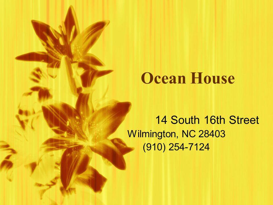 14 South 16th Street Wilmington, NC 28403 (910) 254-7124