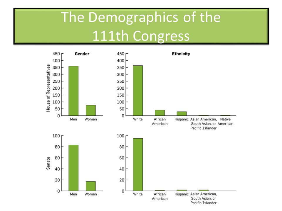 The Demographics of the 111th Congress