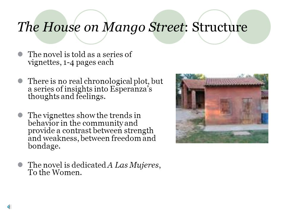 The House on Mango Street: Structure