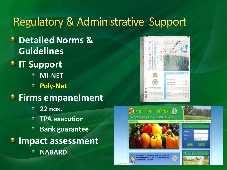 Regulatory & Administrative Support