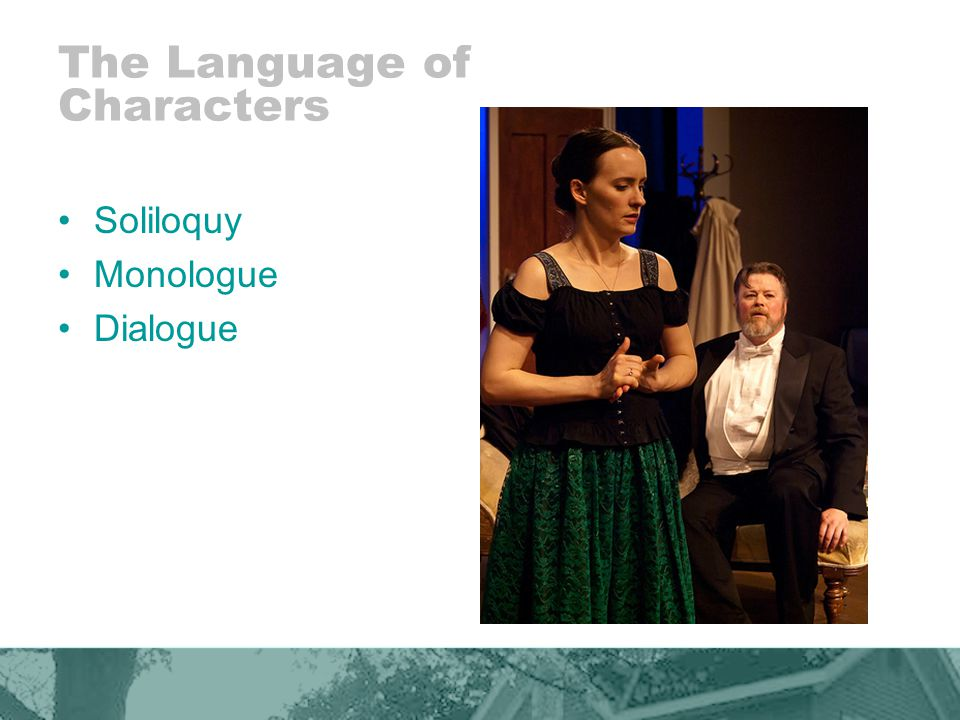 The Language of Characters