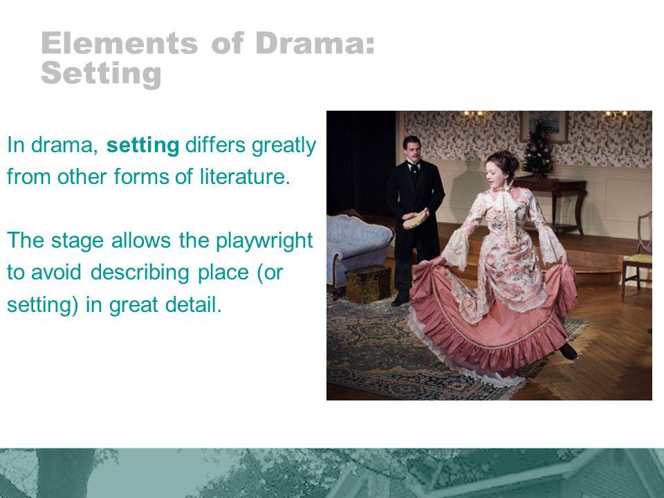 Elements of Drama: Setting