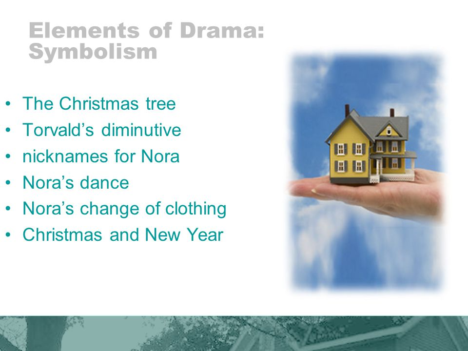 Elements of Drama: Symbolism