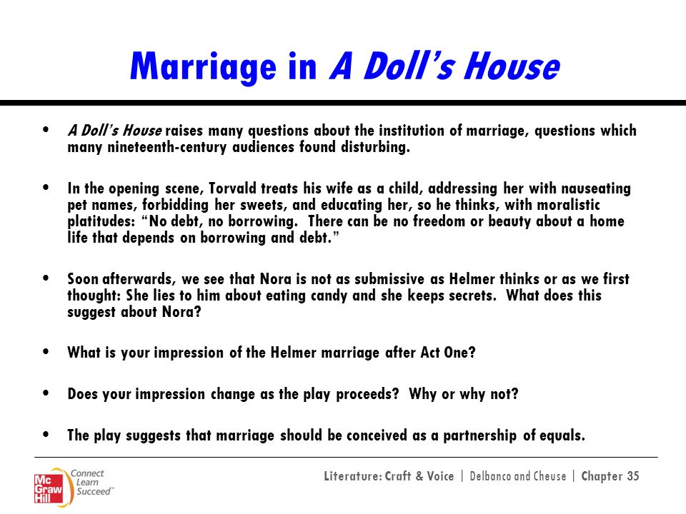 Marriage in A Doll's House