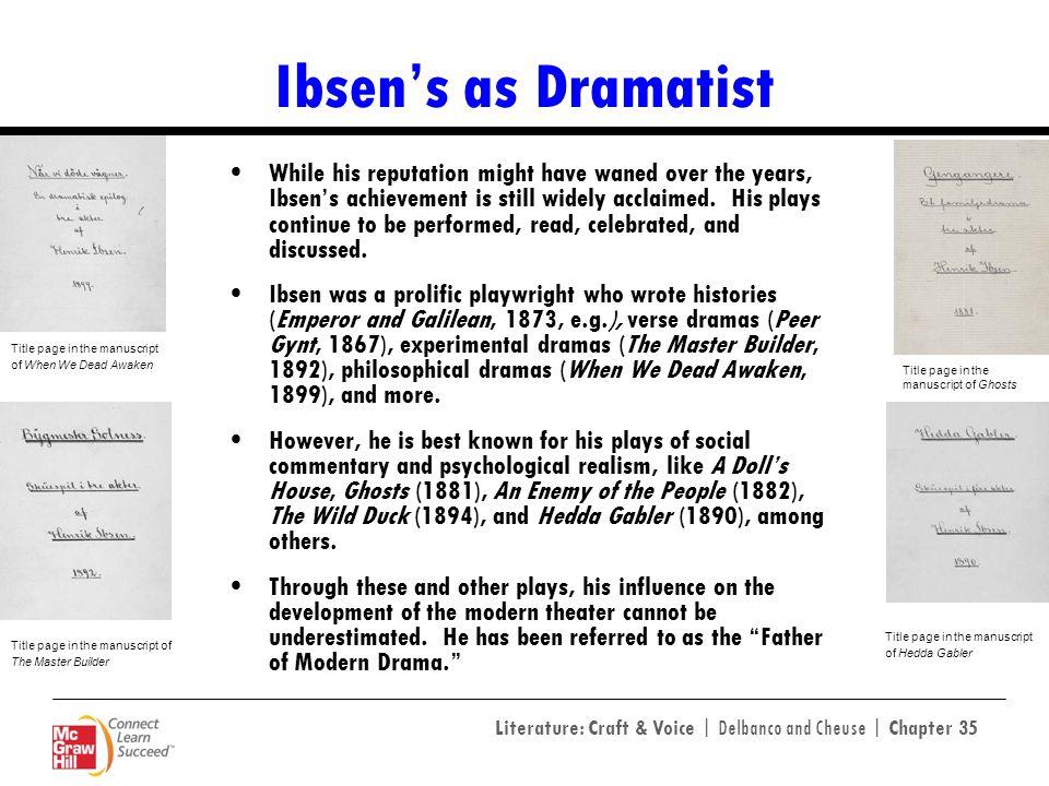 Ibsen's as Dramatist