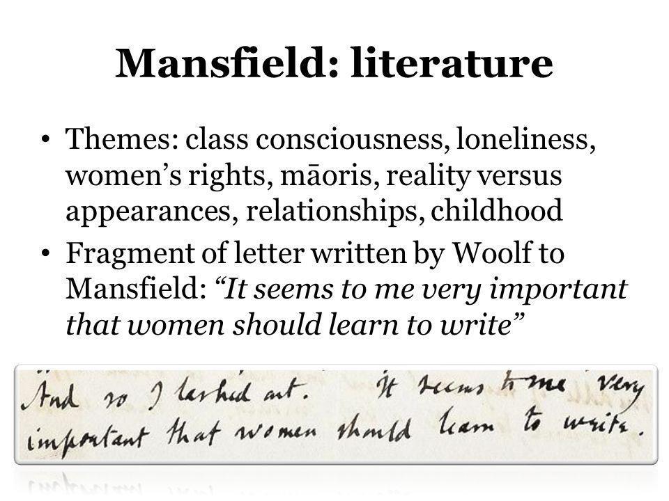 Mansfield: literature