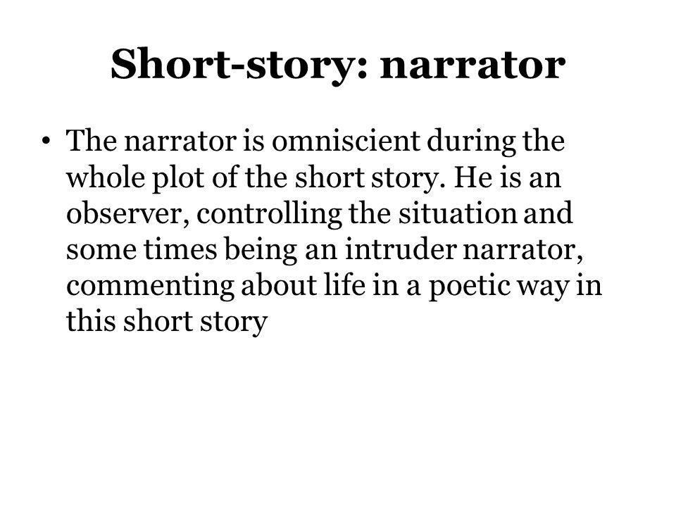 Short-story: narrator