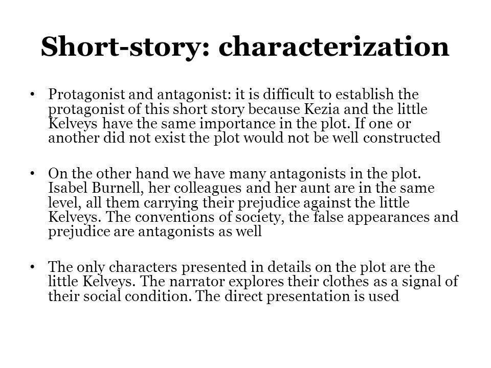 Short-story: characterization