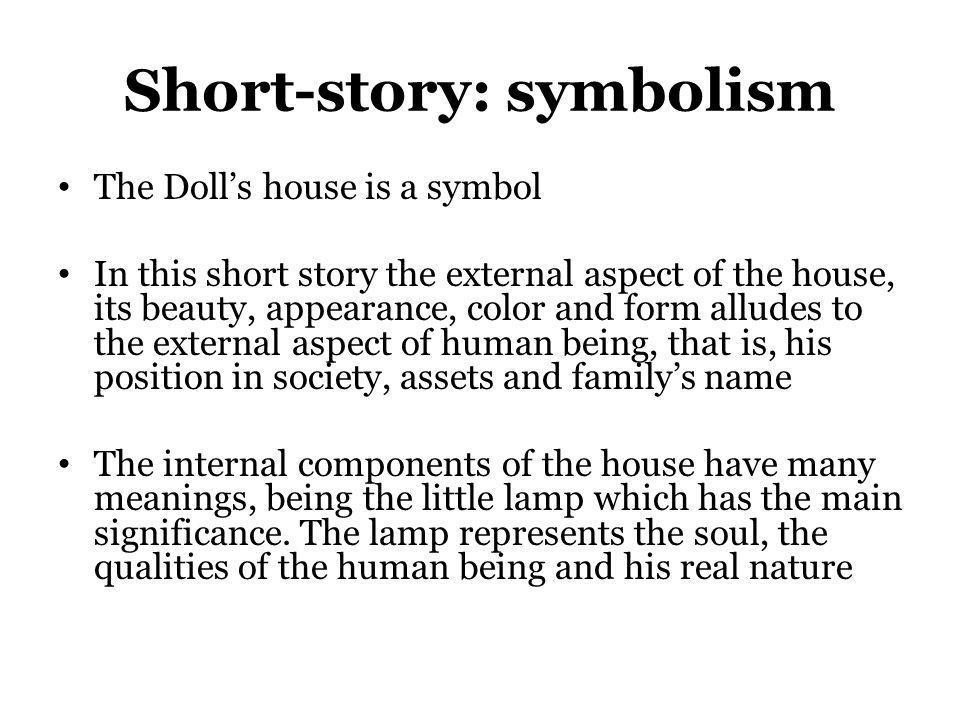 Short-story: symbolism