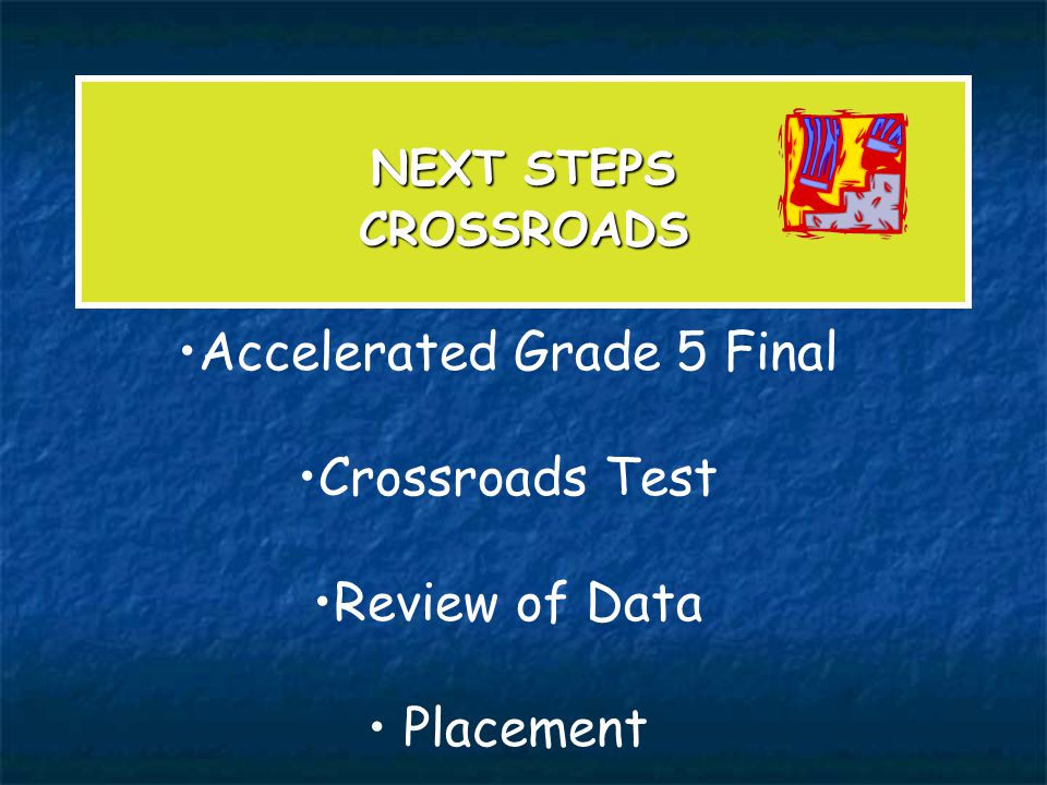 Accelerated Grade 5 Final