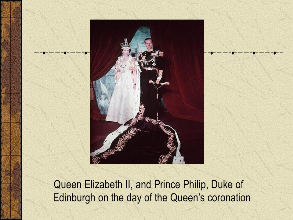 Queen Elizabeth II, and Prince Philip, Duke of Edinburgh on the day of the Queen s coronation