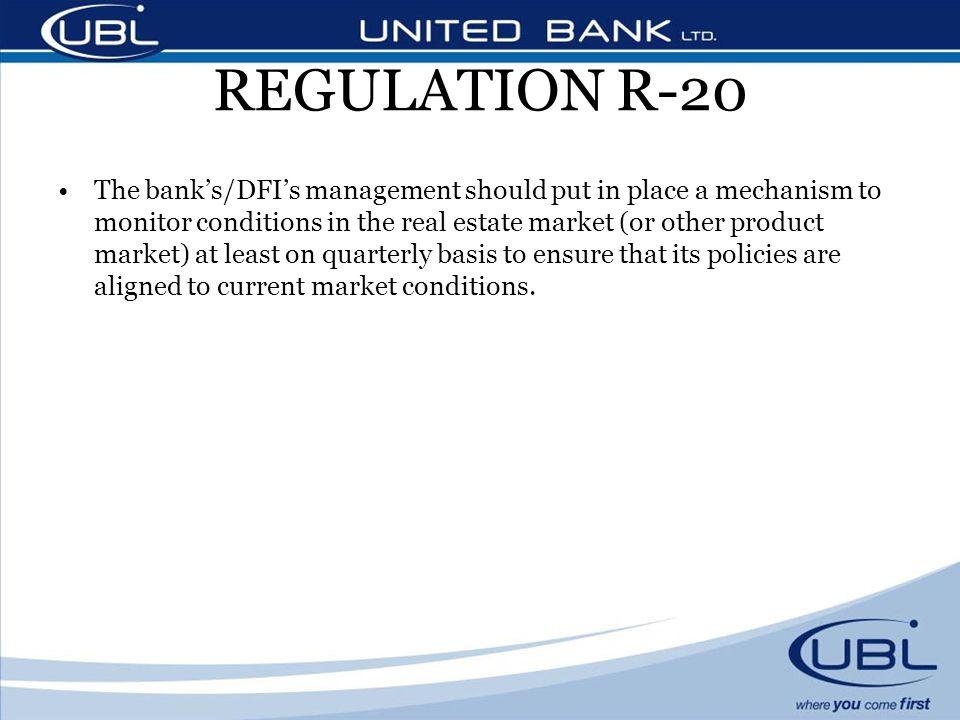 REGULATION R-20