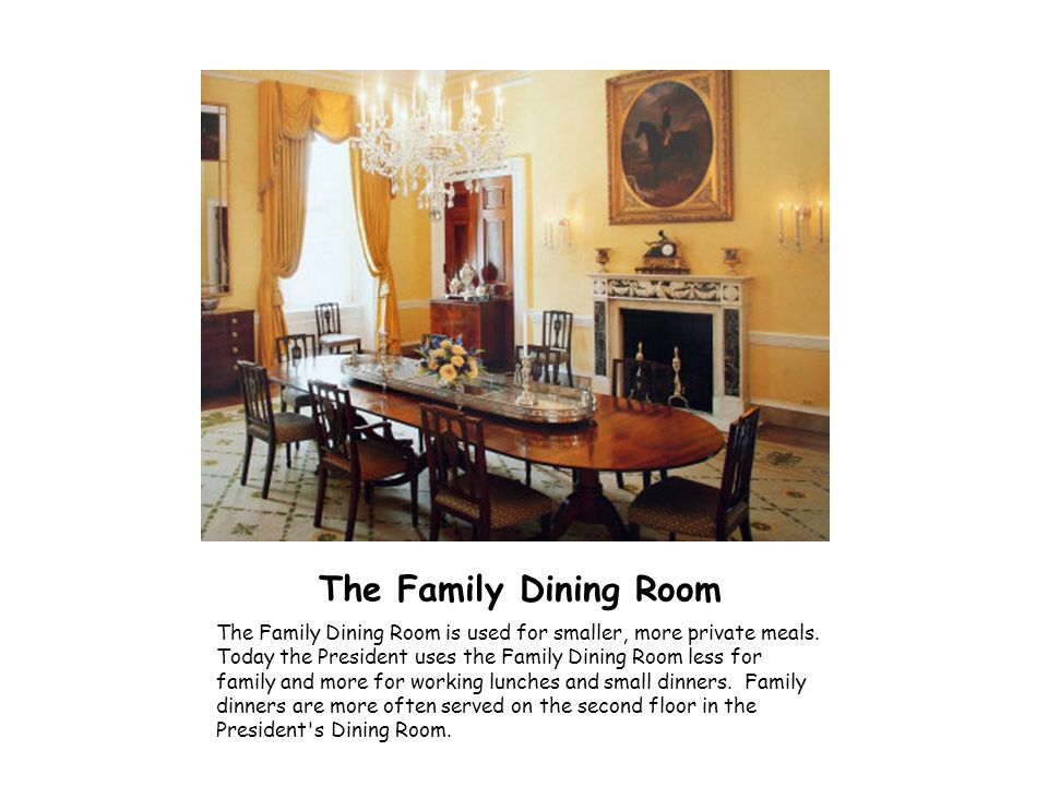 The Family Dining Room