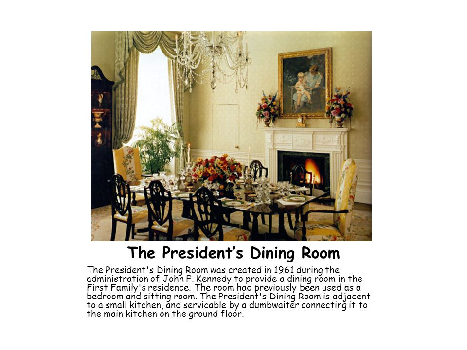 The President's Dining Room