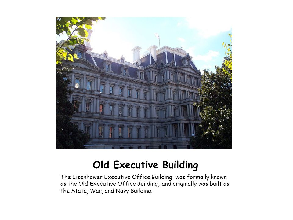 Old Executive Building