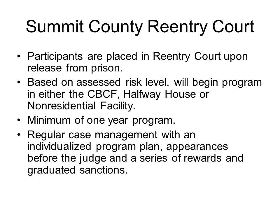 Summit County Reentry Court