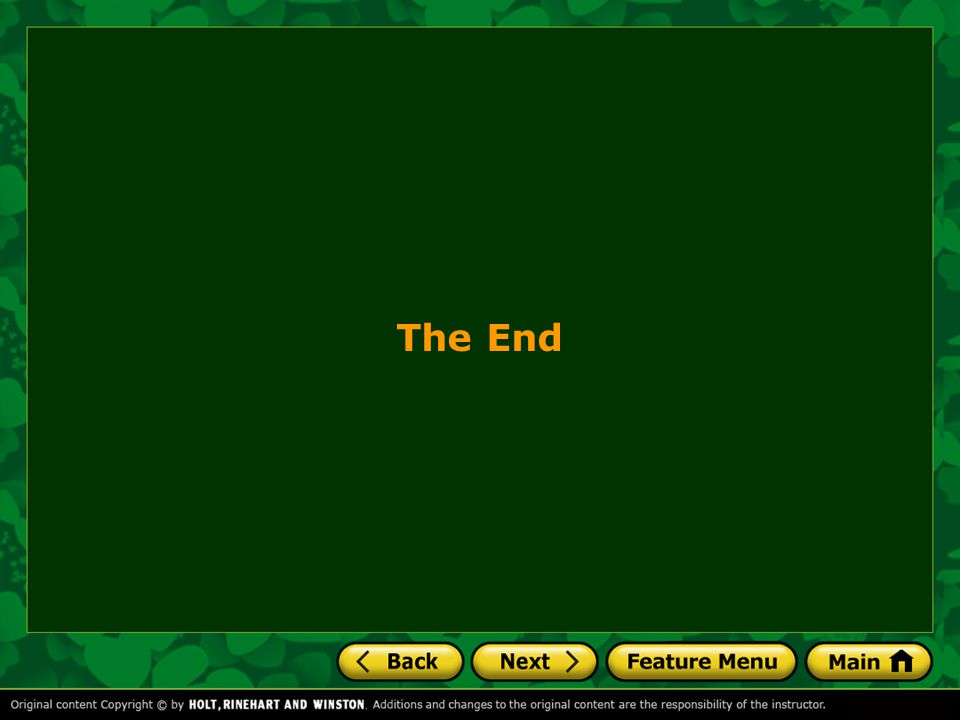 The End 26 26