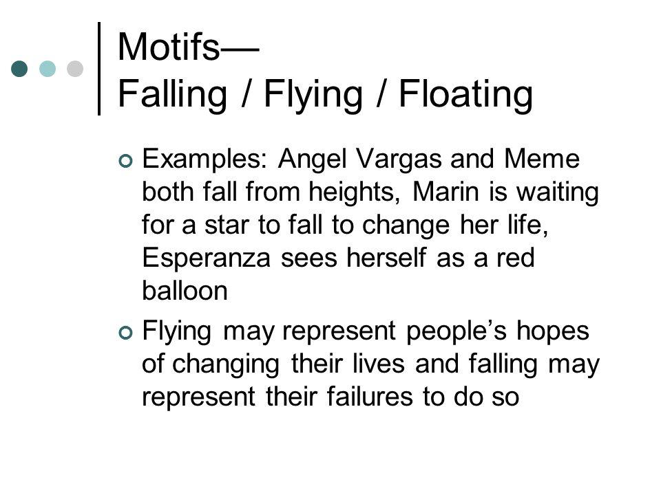 Motifs— Falling / Flying / Floating