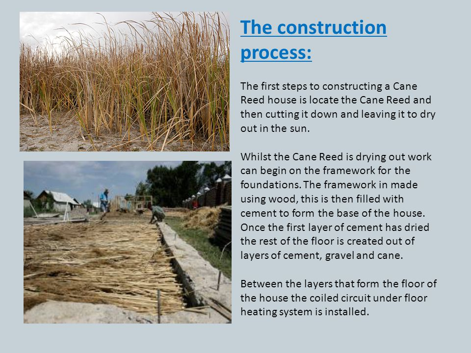 The construction process: