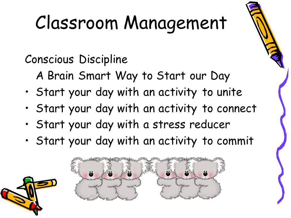 Classroom Management Conscious Discipline