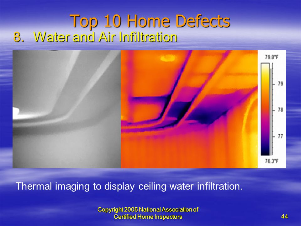 Copyright 2005 National Association of Certified Home Inspectors