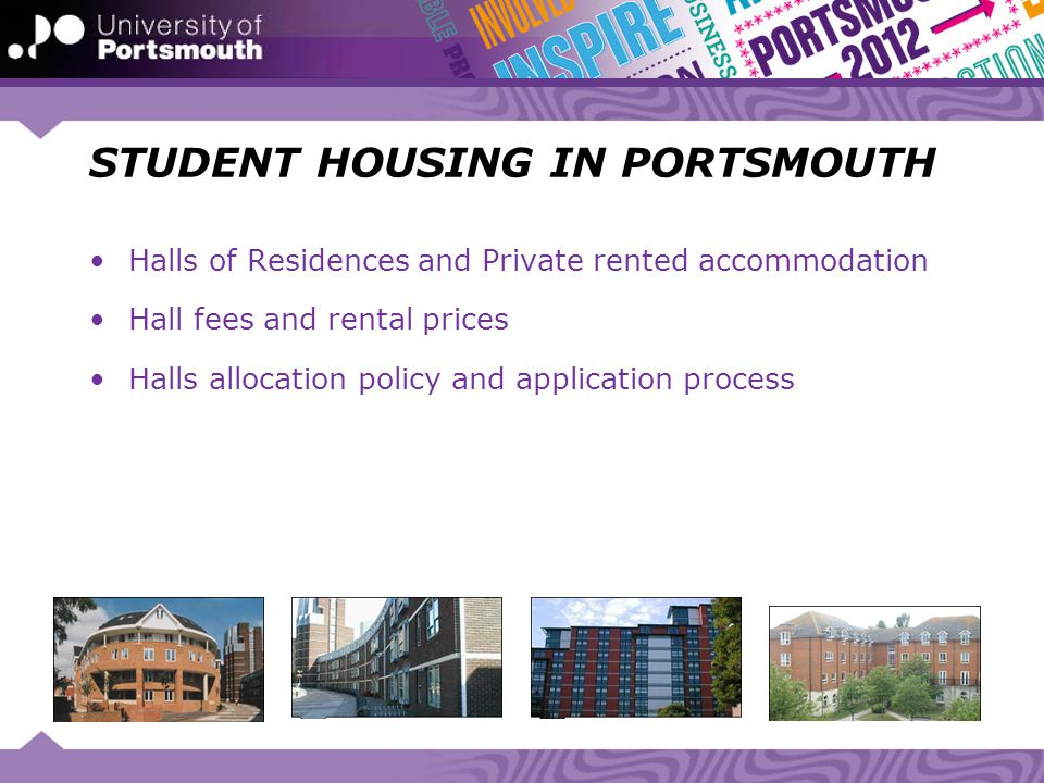 STUDENT HOUSING IN PORTSMOUTH