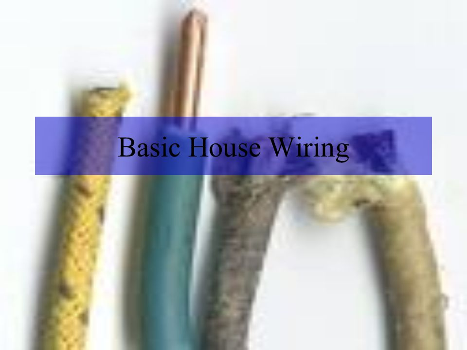 Swell Basic House Wiring Ppt Video Online Download Wiring 101 Carnhateforg