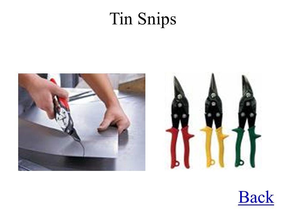 Tin Snips Back