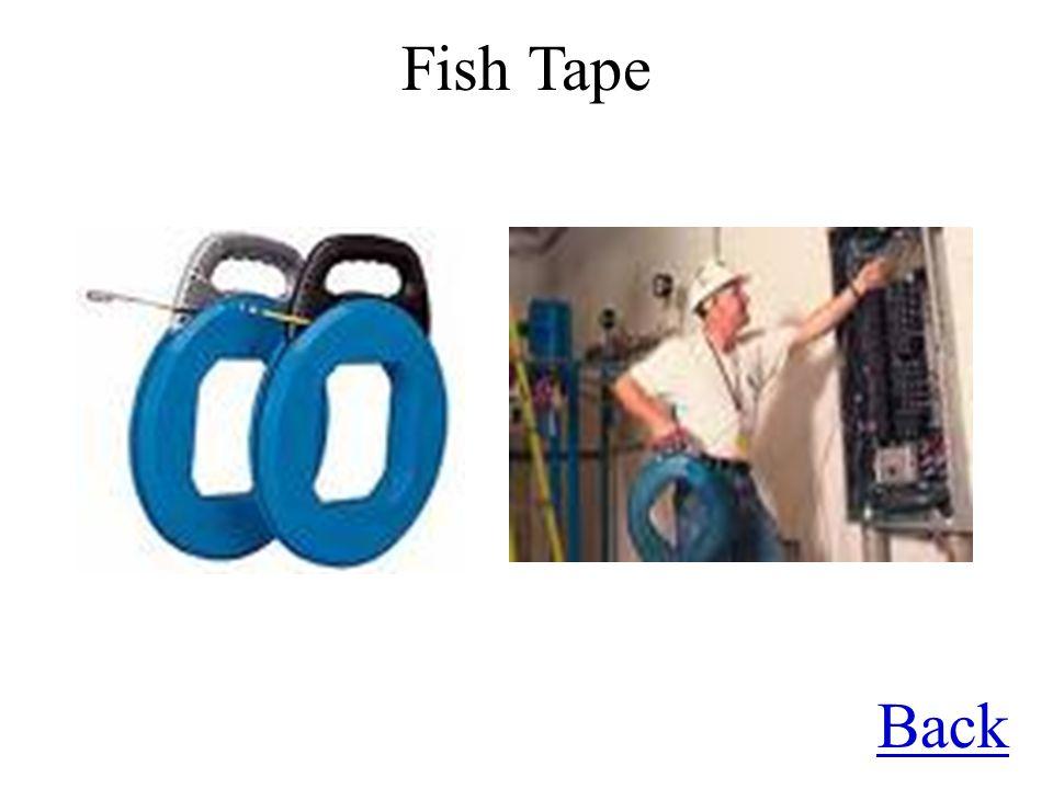 Fish Tape Back
