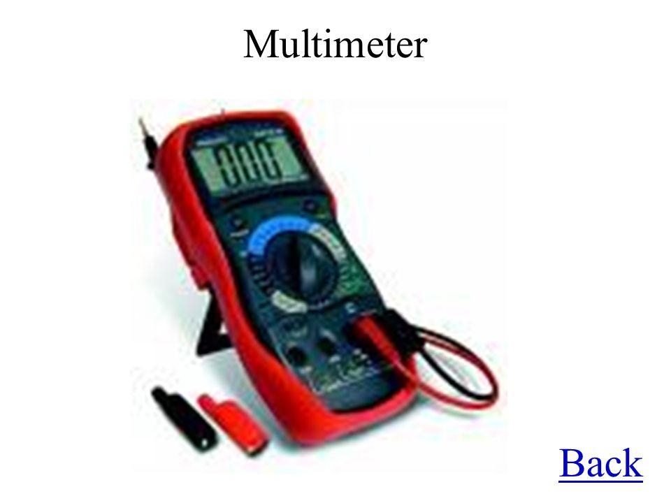 Multimeter Back
