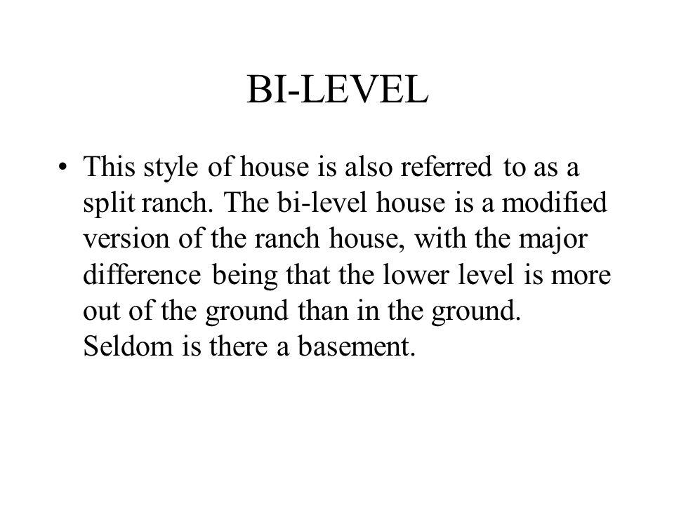 BI-LEVEL