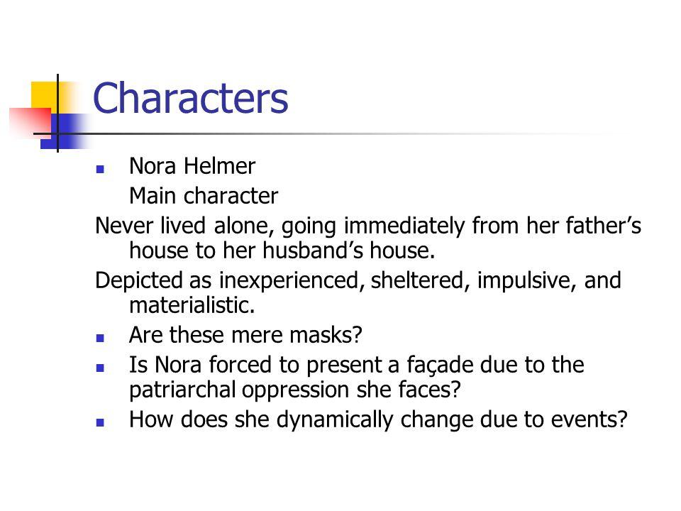 Characters Nora Helmer Main character