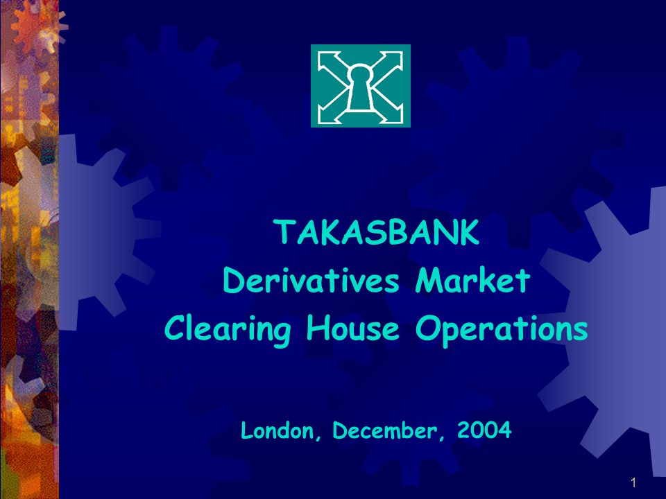 Clearing House Operations