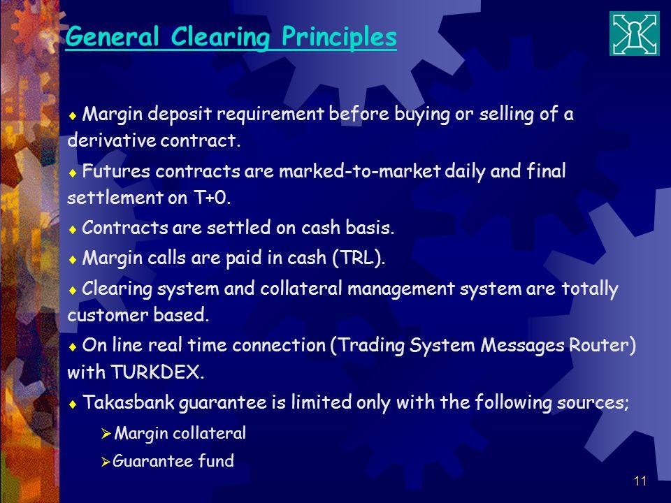 General Clearing Principles