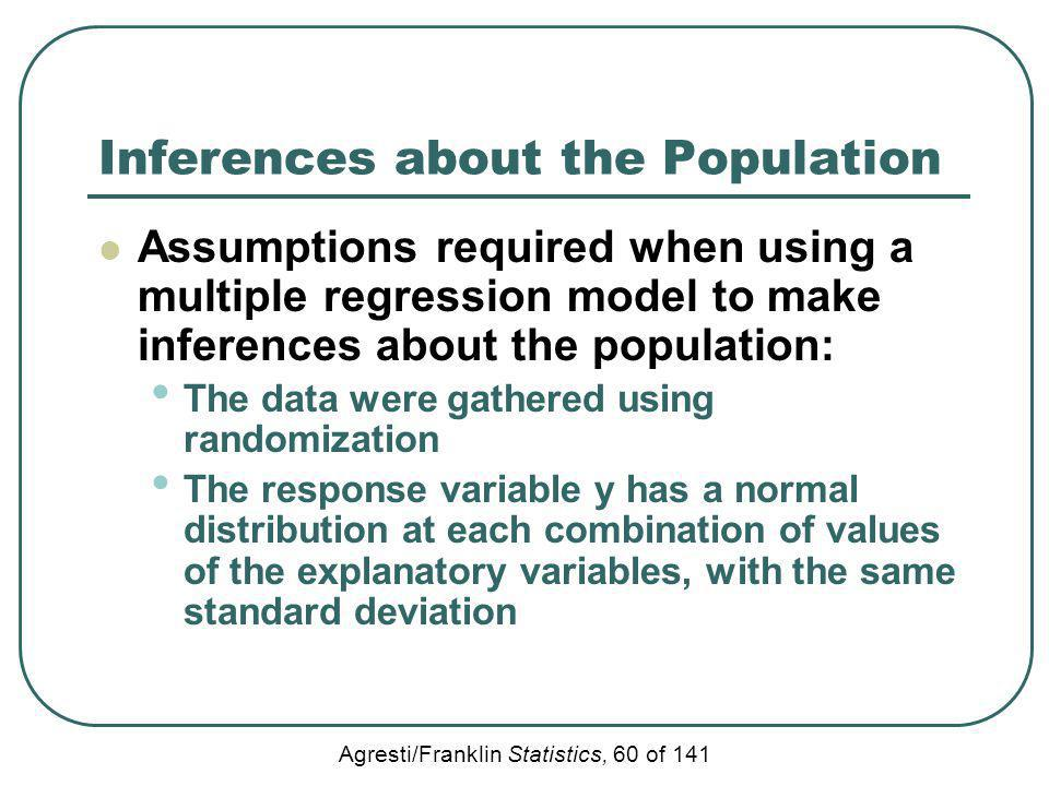Inferences about the Population