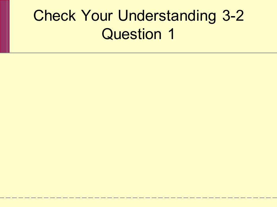 Check Your Understanding 3-2 Question 1