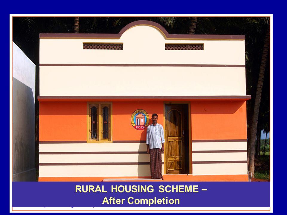 RURAL HOUSING SCHEME – After Completion