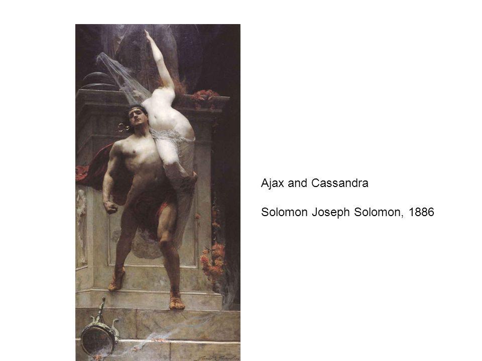 Ajax and Cassandra Solomon Joseph Solomon, 1886