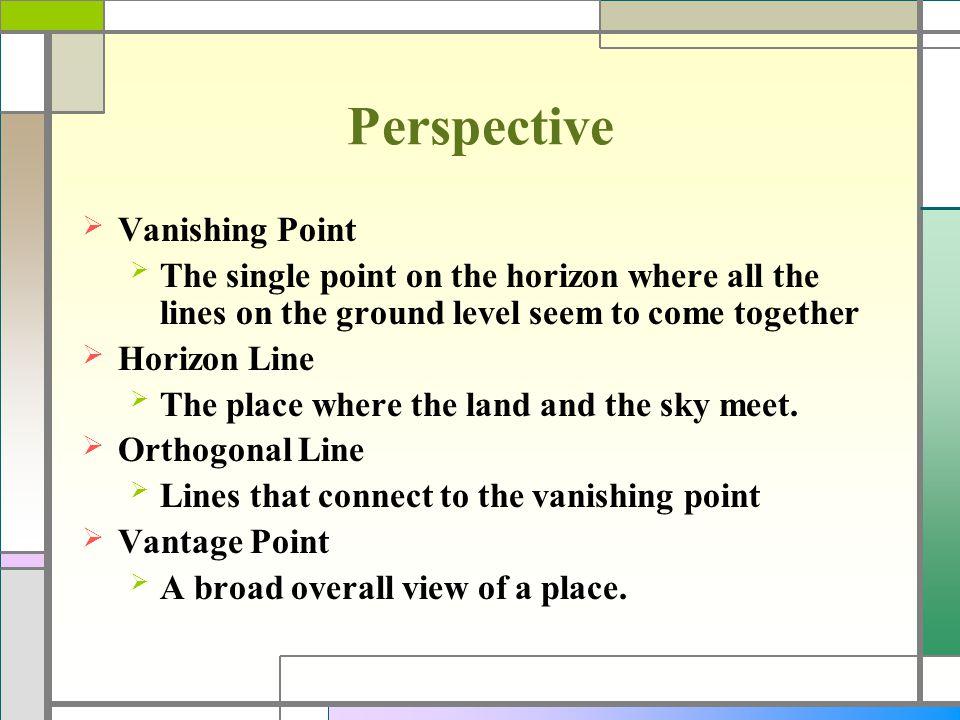 Perspective Vanishing Point