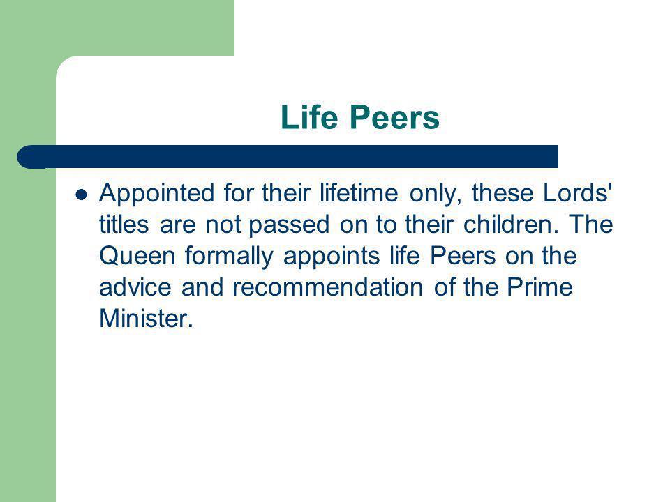 Life Peers