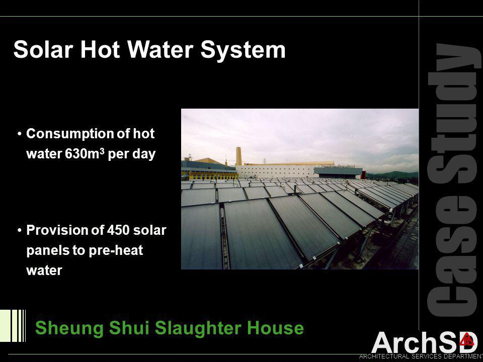 Case Study Solar Hot Water System Sheung Shui Slaughter House