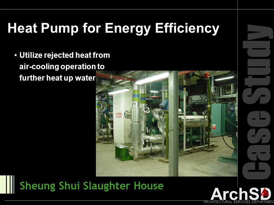 Case Study Heat Pump for Energy Efficiency Sheung Shui Slaughter House