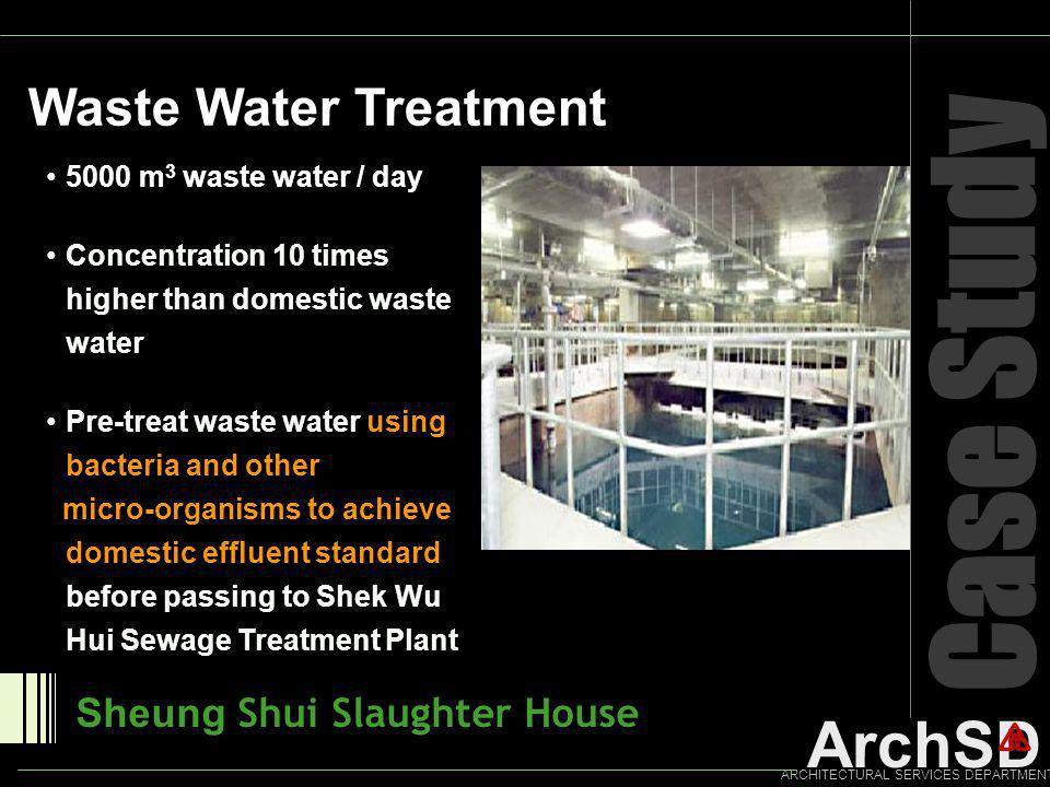 Case Study Waste Water Treatment Sheung Shui Slaughter House