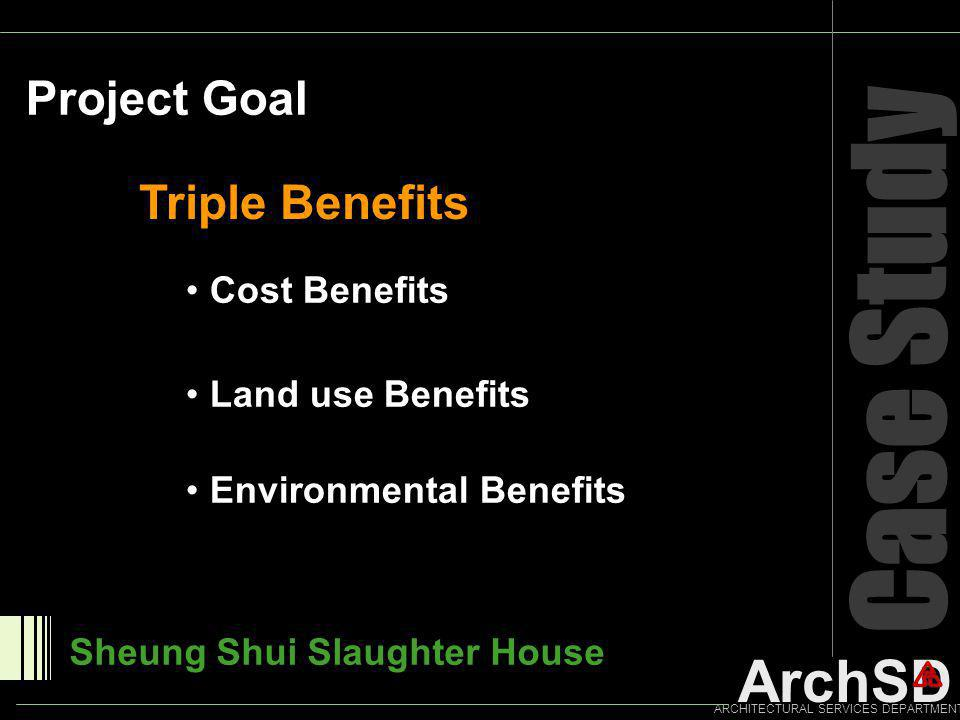 Case Study Project Goal Triple Benefits Cost Benefits