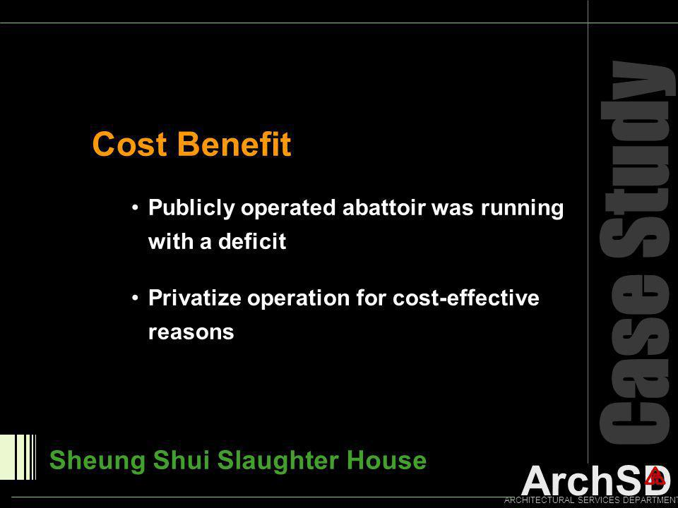 Case Study Cost Benefit Sheung Shui Slaughter House